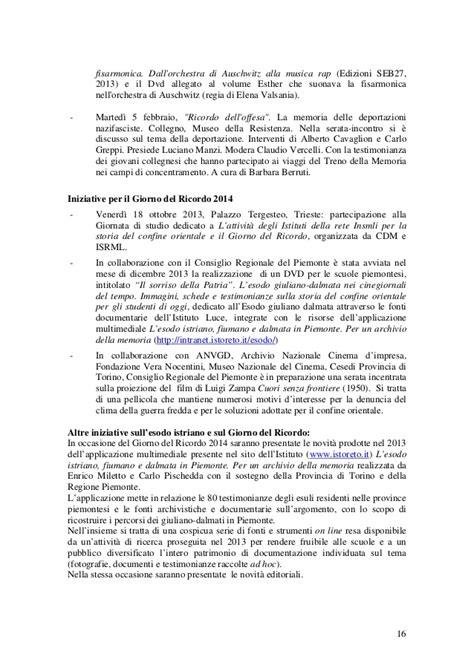 Relazione attività 2013