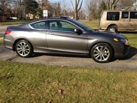 Find Used 2013 Honda Accord Coupe Ex-l V6 Manual