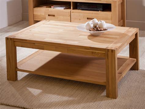 table rectangulaire de cuisine table basse rectangulaire en chêne finition huilée