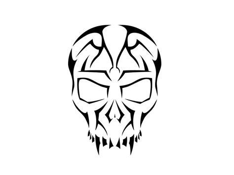 tribal skull tattoos ideas