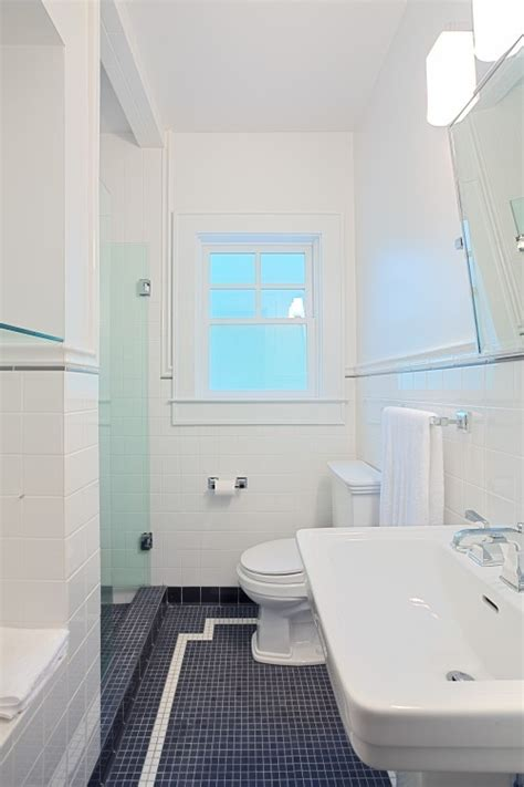 dark blue bathroom floor tiles ideas  pictures