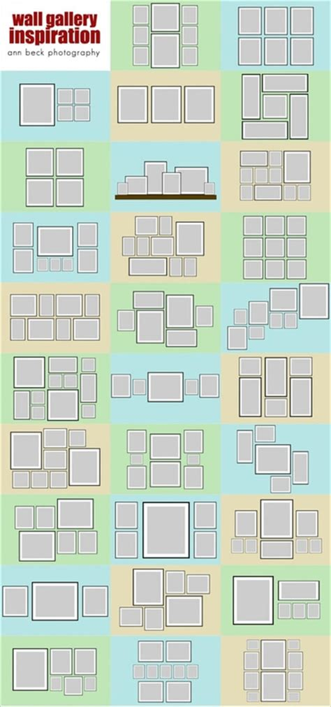 gallery wall ideas top ideas to create a diy photo gallery wall layouts diy and crafts