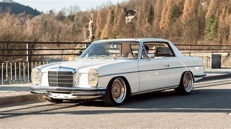 mercedes w114 coupe mercedes w114 coupe 1970r engine m104 3 2l r6 custom