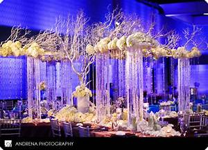 Crystal centerpieces st simons wedding planner