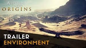 Assassin's Creed Origins - Environment Trailer | Gamescom ...