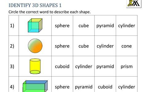grade   shapes worksheets  printable docx