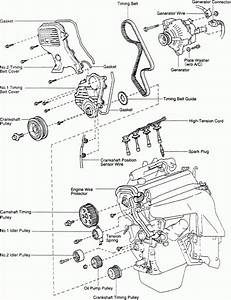 1996 Toyota Corolla Engine Diagram