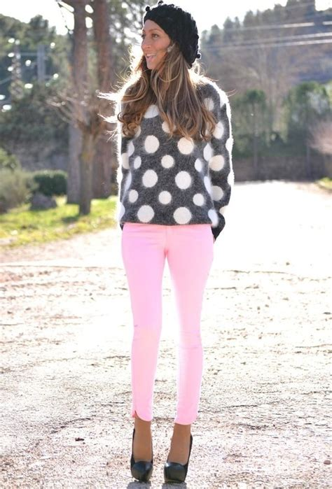 8 Stylish and Fresh Outfit Ideas with Polka Dots for 2014 - Pretty Designs