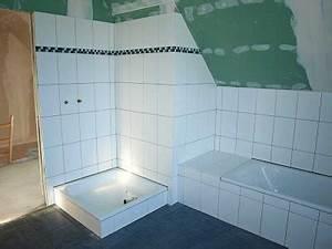 Dusche In Der Schräge : bericht von der baustelle fliesen im bad ~ Bigdaddyawards.com Haus und Dekorationen
