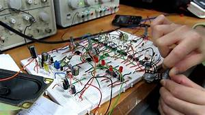 Audio Mixer Using Op Amp 741
