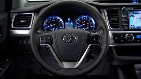 toyota highlander interior youtube