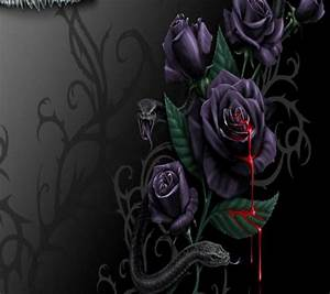 Download Gothic Rose wallpapers to your cell phone ...
