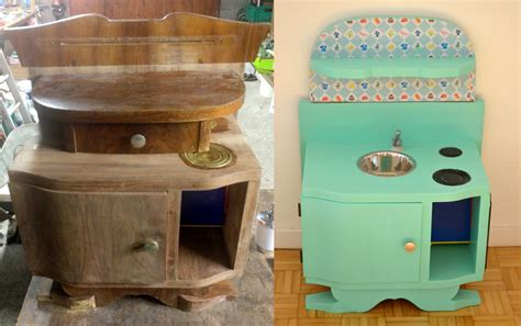 cuisine en bois pour fille diy une cuisine enfant en bois à fabriquer à partir de
