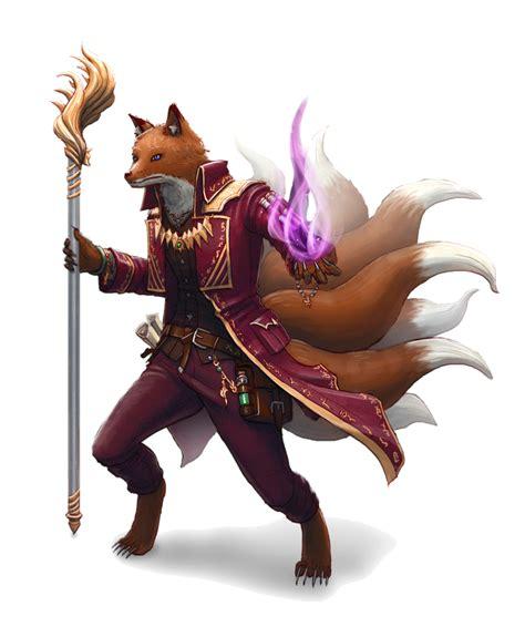 male kitsune sorcerer pathfinder pfrpg dnd dd