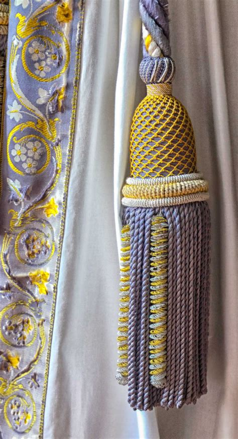 Drapery Tassels - curtain tassel at versailles 169 2013 blossomgraphicdesign