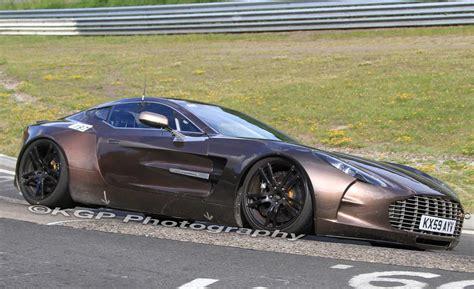 Future Car Spy Shots Of The 2012 Aston Martin One77