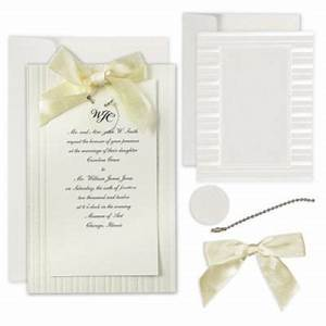 ivory simple yet elegant printable wedding invitations kit With wedding invitation kits party city