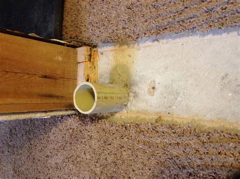 seal unused drain pipe