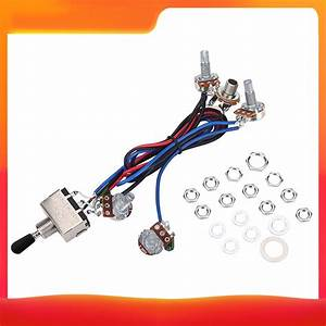 Prewired Wiring Harness Kit For Lp Electric Guitar 2t2v