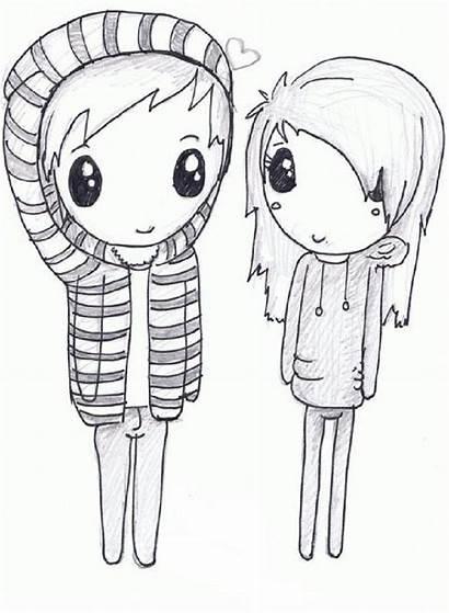 Drawings Drawing Boyfriend Easy Draw Girlfriend Sketch