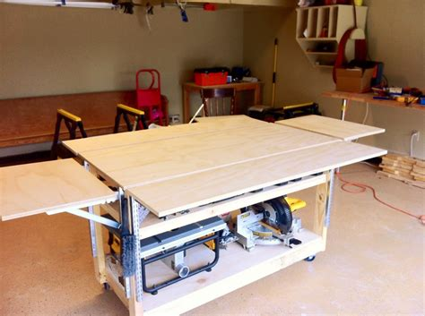mobile workbench plans diy   unistrut