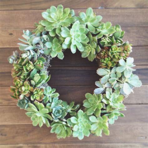 succulent wreath garden inspired spring succulent wreaths arrow sage
