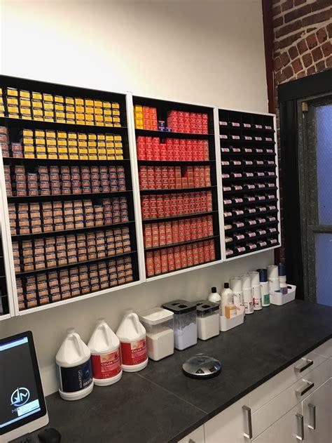 Hair Color Shelf by 1 Hair Salon Color Storage 1 Hair Salon Color Rack 1