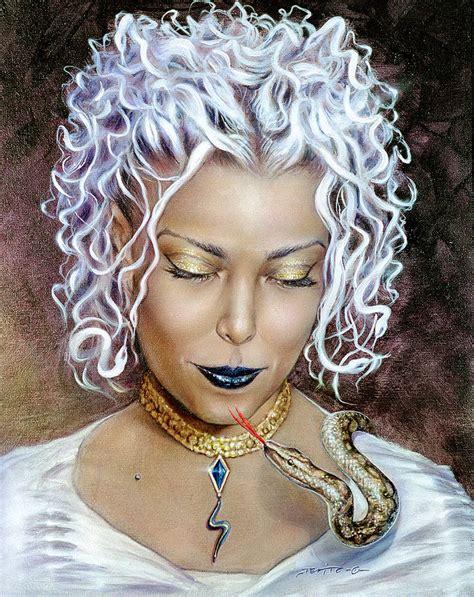Medusa Painting by Salvatore DeVito