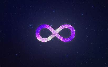 Infinity Symbol Wallpapers Beyond Wallpapersafari
