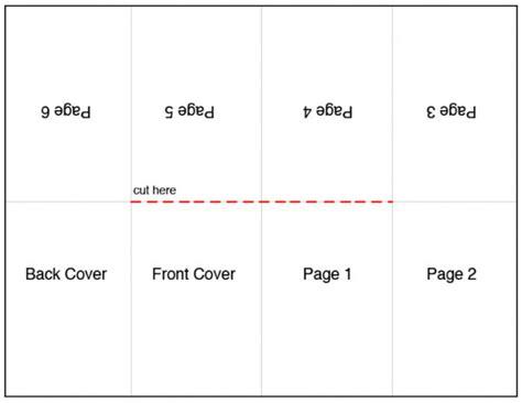 mini book template mini books