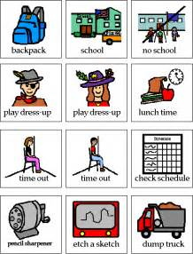 Printable Pecs Symbols School