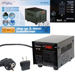 100 watt converter step up and step down continuous use