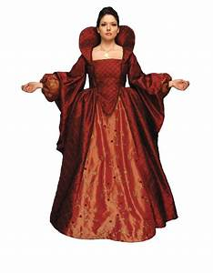 Ladies Medieval Tudor Queen Elizabeth 1 Costume Image ...