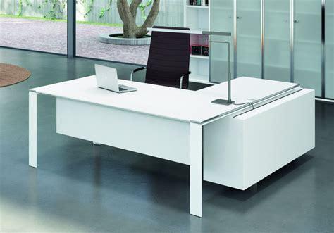bureau de direction blanc meuble de bureau blanc meuble bureau d angle lepolyglotte