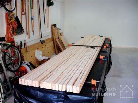 heavy duty workbench plans  build   diy