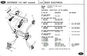 Land Rover Defender Rear Wiper Wiring Diagram by Wiring The Rear Wash Wipe Defender Forum Lr4x4 The