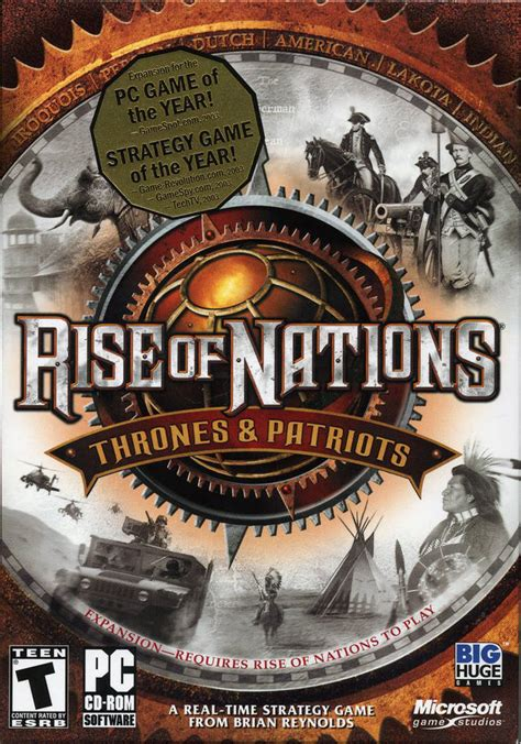 rise of nations thrones and patriots rise of nations