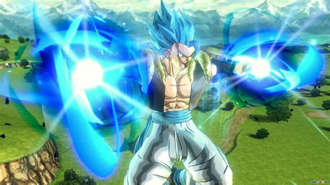 dragon ball xenoverse  gogeta ssgss screenshots