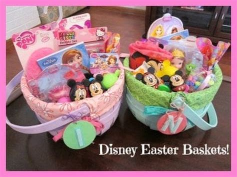 S Disney Themed Easter Baskets Youtube