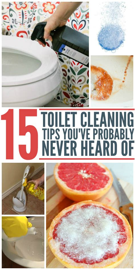 15 toilet cleaning tips that you ve probably never heard before