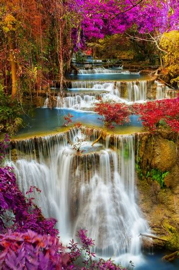 foto parco nazionale  erawan  kanchanaburi