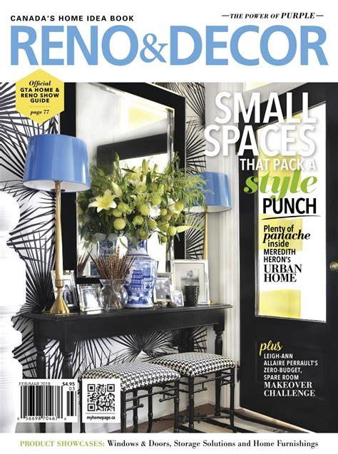 decor magazine reno decor magazine feb mar 2018 by homes publishing