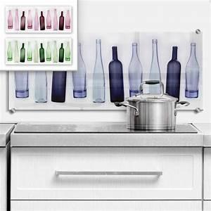 Wandbilder Für Küche : spritzschutz bottles f r die k che wall ~ Sanjose-hotels-ca.com Haus und Dekorationen