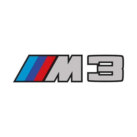 Stickers Bmw M3 Logo  Autocollant Voiture