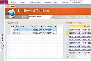 download northwind microsoft access templates and access With small business access database template