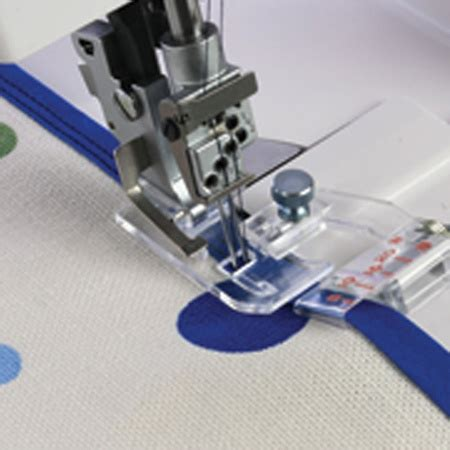 adjustable bias binder foot janome  sewing