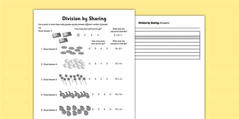 division  equal sharing division sharing divide maths