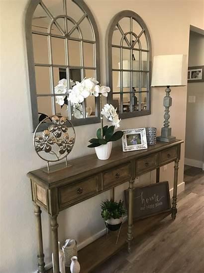 Entry Table Entryway Farmhouse Decor Goods Items