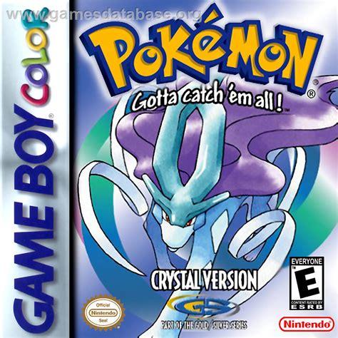 Pokemon Crystal Version Nintendo Game Boy Color Games