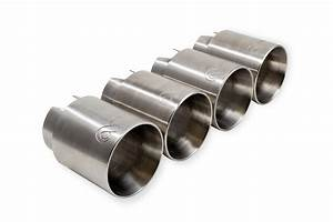 Active Autowerke Exhaust Tips For Bmw M3 M4   Silver Tips